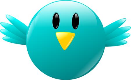 Gratis Twitter Icono