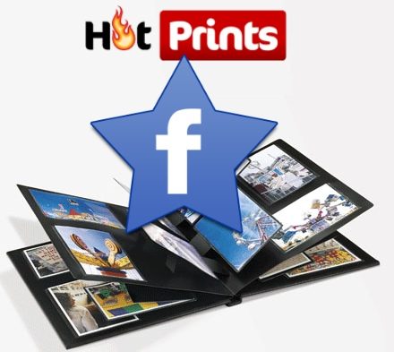 hotprints facebook aplicacion fotos
