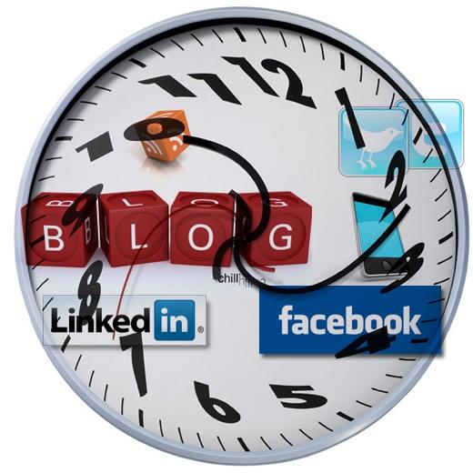 Reloj Redes Sociales