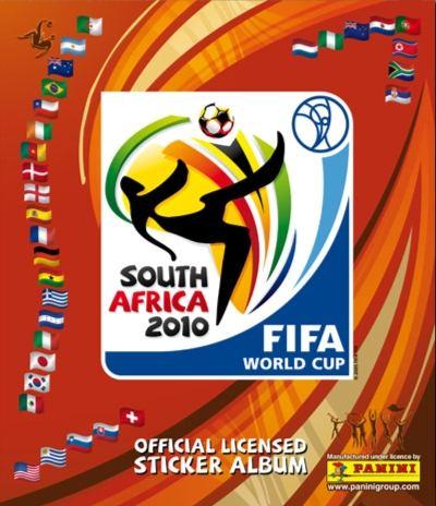 album panini copa del mundo sudafrica 2010