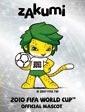 sticker mascota copa del mundo