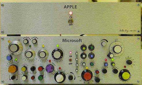 apple vs microsoft humor