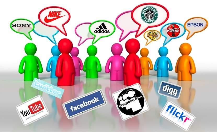 redes sociales marcas