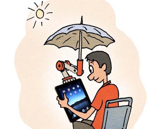 iShade accesorio para iPad