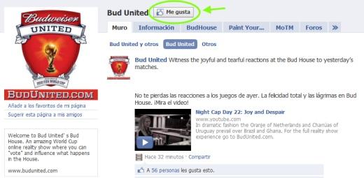 captura bud united me gusta