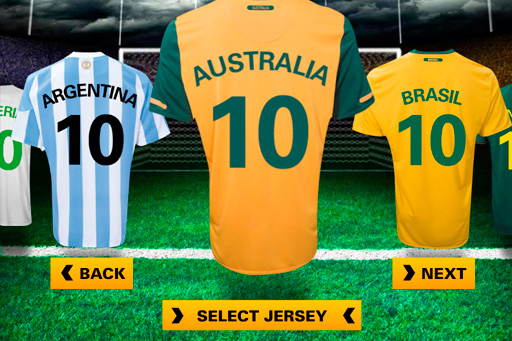 423445aced7e0 Crea tu propia camiseta del Mundial Sudafrica 2010 con World ...