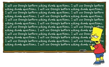simpsons google humor