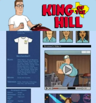 king of the hill myspace