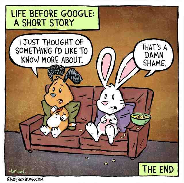 life before google