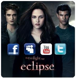 saga crepusculo eclipse facebook