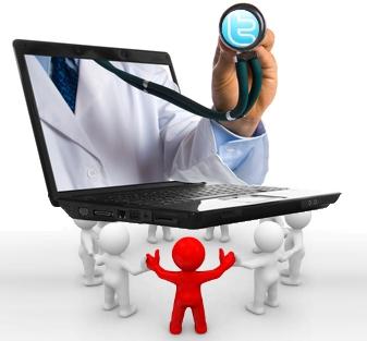 medios sociales salud