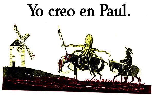 pulpo paul humor quijote