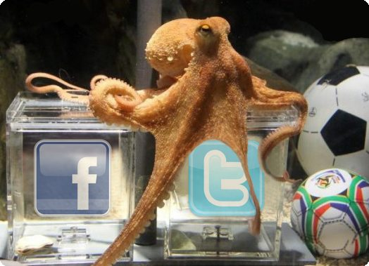 pulpo paul facebok twitter