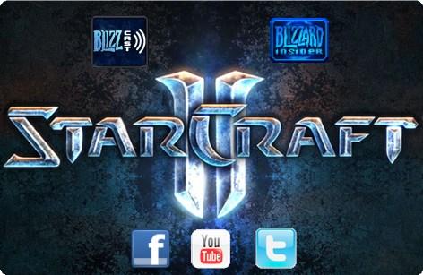starcraft II social media