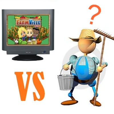 FarmVille vs granja real
