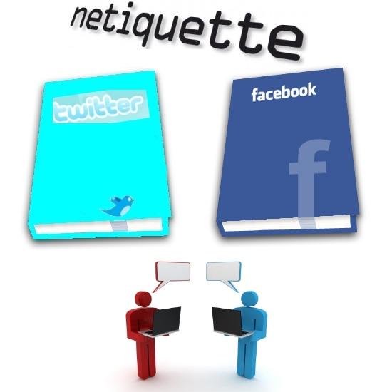 netiquette facebook twitter