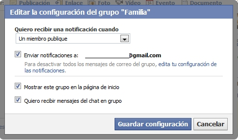 notificaciones grupo facebook