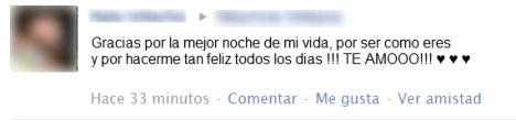 enamorados facebook captura