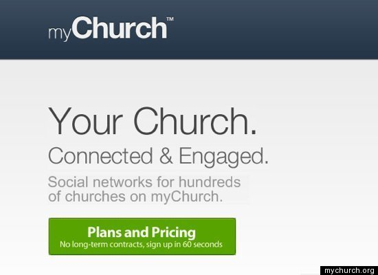 my church red social