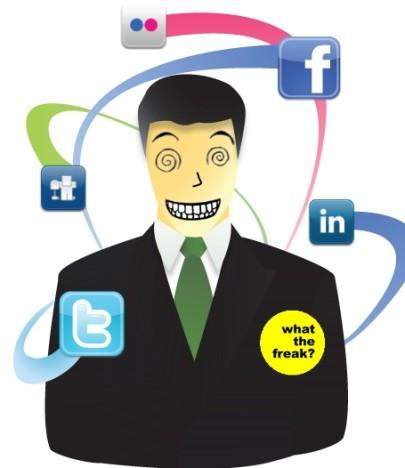 redes sociales extrañas