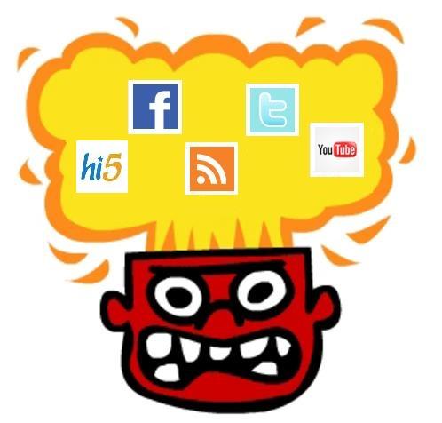 redes sociales fatiga