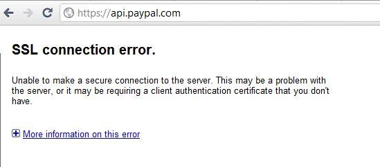 Captura Paypal ataque
