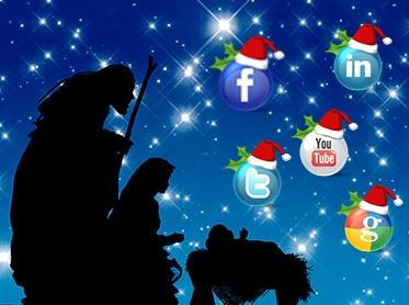 navidad historia redes sociales