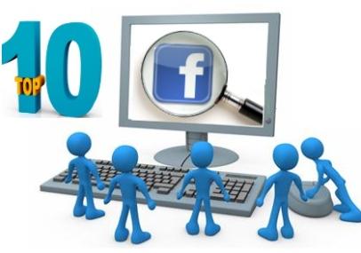 top 10 facebook 2010