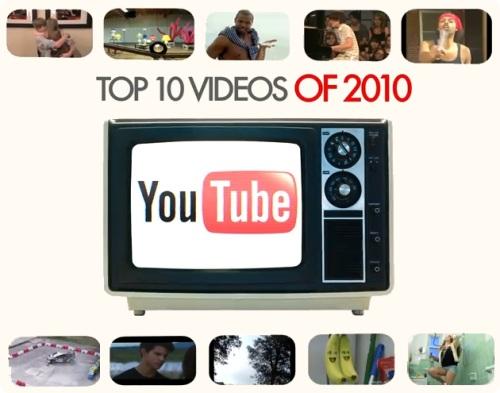 popular youtube 2010