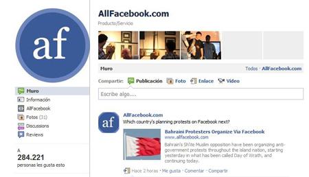 Captura nueva pagina facebook