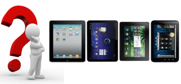 tabletas ipad  xoom playbook streak