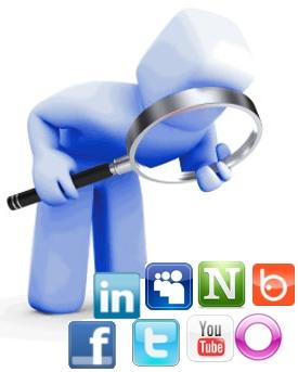 buscador redes sociales