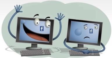 rechazar amigos facebook mini