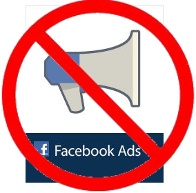 no facebook ads