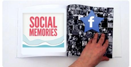social memories facebook aplicacion