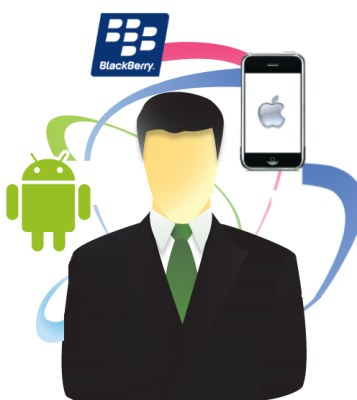 usuarios blackberry iphone android