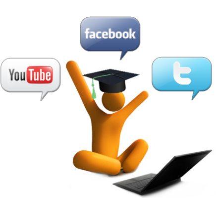 impacto redes sociales internet educacion
