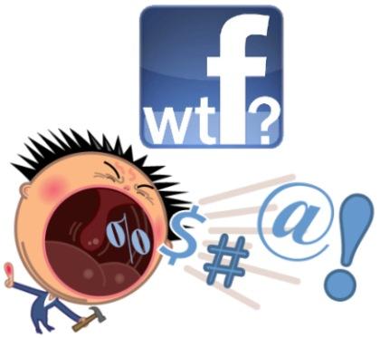 perfile facebook muro groserias