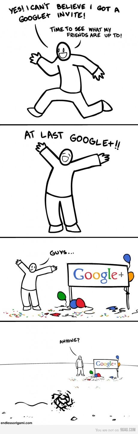 google + plus funny