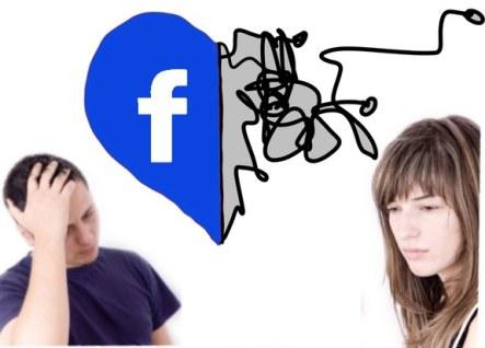 amor relaciones facebook habitos solteros