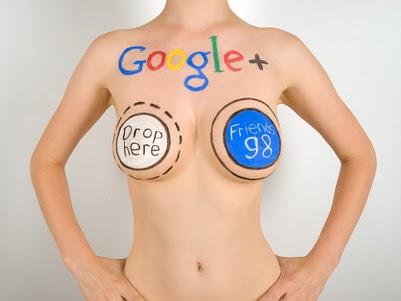 google + plus facebook circles