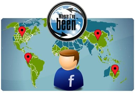 aplicacion facebook viajes whereivebeen