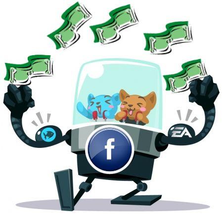 juegos sociales redes infografia dinero negocio