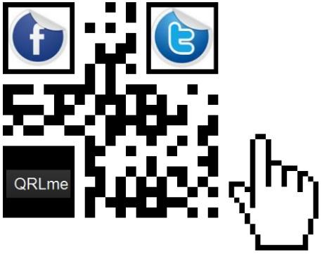 qr code facebook twitter redes sociales