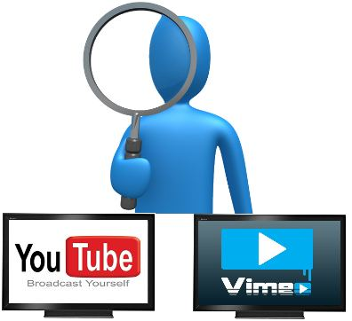 videos youtube vimeo usuario infografia