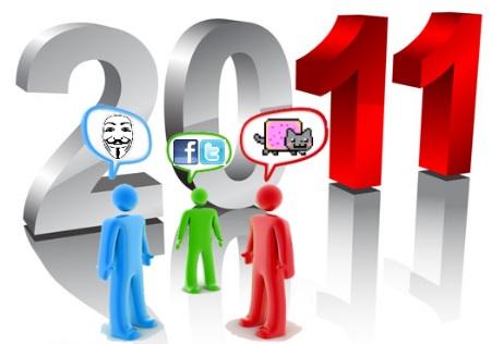 2011 redes sociales social media momentos mas importantes