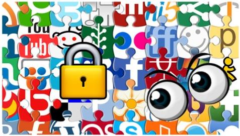 redes sociales permisos aplicaciones facebook twitter yahoo google
