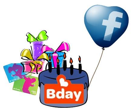 bday gift finder regalo facebook cumpleaños amigos