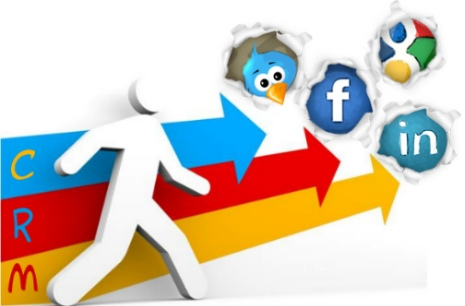 crm social media redes sociales