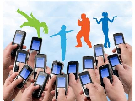 estudio infografia sms mensajes texto adolescentes celular movil